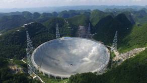 Dopo la tragica fine di quello di Arecibo, pronto il radiotelescopio più grande del mondo, in Cina.