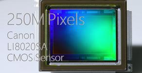 Canon presenta un sensore industriale da 250 megapixel