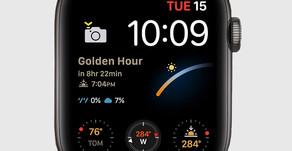 Apple Watch Series 6 avverte i fotografi quando è la Golden Hour
