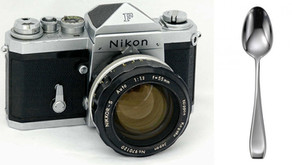 La Nikon F e il cucchiaio