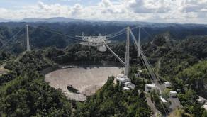 La caduta di un gigante! La fine dell'osservatorio di Arecibo ripresa da un drone