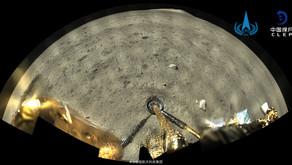Scattata una foto panoramica sulla luna dalla sonda Cinese Chang'e 5 di ben 119 megapixel