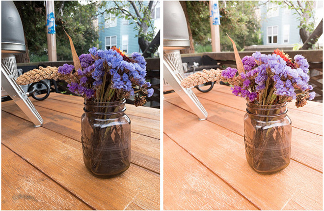 Semplice foto in RAW da iPhone X (foto a sinistra) e iPhone XS MAX . | Foto di: Sebastiaan de With