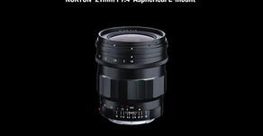 Voigtländer presenta il  Nokton 21mm F1.4 per il sistema E della Sony