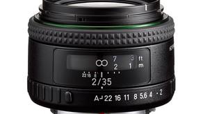 Ricoh annuncia gli obiettivi Pentax 35mm F2 e 11-18mm F2.8 K-mount