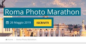 La terza tappa dell' Italia Photo Marathon si svolgerà a Roma il 26 maggio!