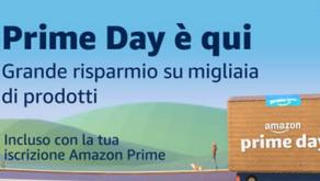 E' arrivato il Prime Day, due giorni di forti sconti su Amazon, non perderti la sezione fotografica!