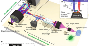 Una fotocamera in 3D da 100 miliardi di fotogrammi al secondo