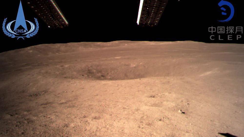 Foto catturata e condivisa dalla China National Space Administration (CNSA)
