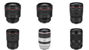 Canon annuncia ufficialmente lo sviluppo di sei nuovi obiettivi della serie RF