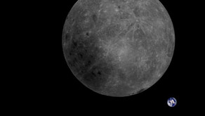 Il satellite cinese cattura la prima foto che mostra sia la Terra che il lato nascosto della Luna