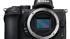 Nikon presenta la Z50, una fotocamera mirrorless in formato DX per attacco Z