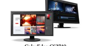"""Eizo presenta un monitor 4K ColorEdge CS2740 da 27"""" con connessione USB-C e ingresso a 10 bit"""