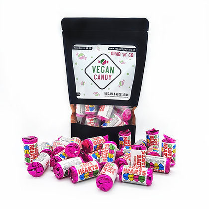Mini Love Hearts 200g (Vegan)