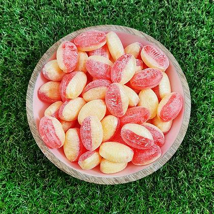 Sugar Free Rhubarb & Custard 200g (Vegan)