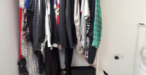The Benefits of an open wardrobe.