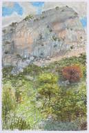 Montagne_23x16cm_oil pastel on paper_2020