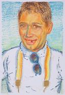 Paul_23x16cm_oil pastel on paper_2020