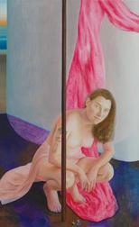 Venus, 130x80 cm, oil on wood, 2017