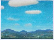 Ciel du Sud_23x16cm_oil pastel on paper_2020