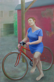 Il va pleuvoir, 146x97cm, oil on canvas, 2017