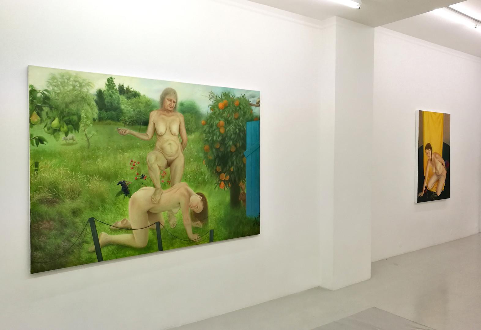 """""""Créatures"""" _ Galerie ALB, Paris _ 2017"""