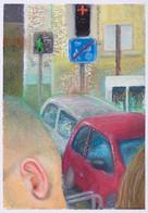 Bruit_23x16cm_oil pastel on paper_2020