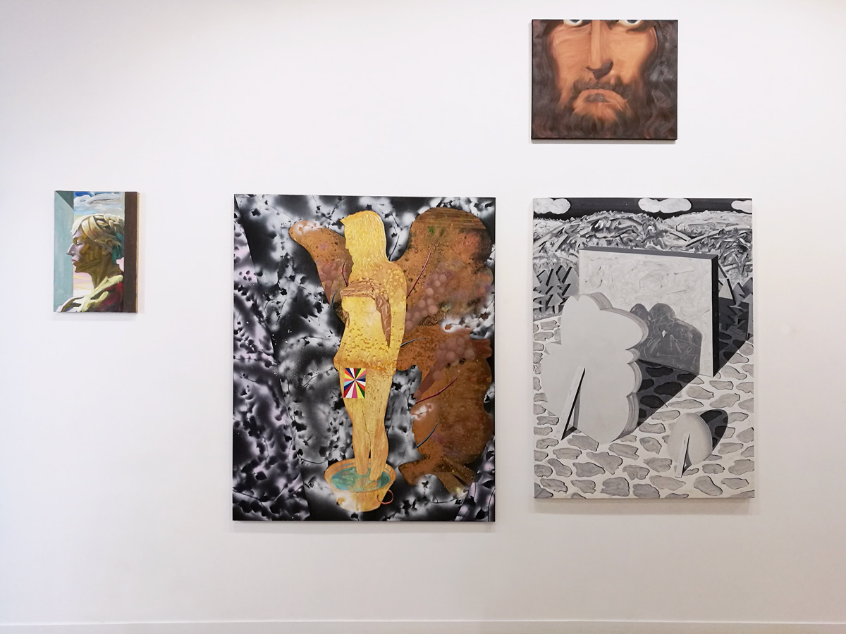 """j'aime"" _ curated group show _ carte blanche à marion bataillard _ galerie henri chartier _ lyon _ 2018"