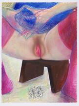 Méditation_39x30cm_oil pastel on paper_2020