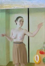 Omnia Vanitas, 130x89 cm, oil on canvas, 2017 _ private collection