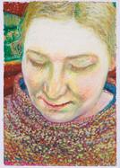 Valentina_23x16cm_oil pastel on paper_2020
