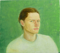 Matéo, 25x32cm, oil on wood, 2014 _ private collection