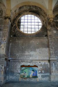 """_ """"la vie sur terre"""" _ église des trinitaires _ commissariat vivane zenner _ metz _ 2020"""