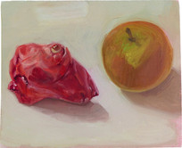 Vanitas, 11x13cm, oil on wood, 2014 _ private collection
