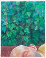 Gros dormeur_35x29cm_oil pastel on paper_2020