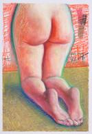 Prière_23x16cm_oil pastel on paper_2020