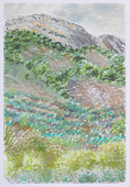Drôme_23x16cm_oil pastel on paper_2020