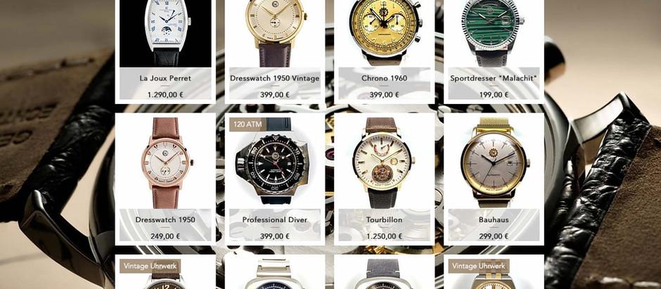 Nur noch bis zum 4. April. 30 % Rabatt auf alle Uhren im Shop!!