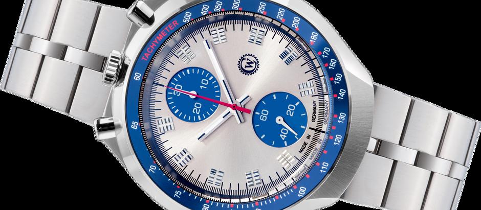 Reine Sportlichkeit: Ein Bullhead-Chronograph von Constantin Weisz für Liebhaber klassischer Uhren