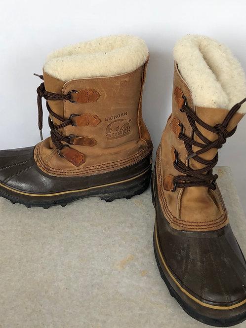 Sorel Bighorne Snow Boots, size US 8