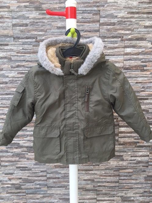 Boy's warm winter jacket, size 2/3T