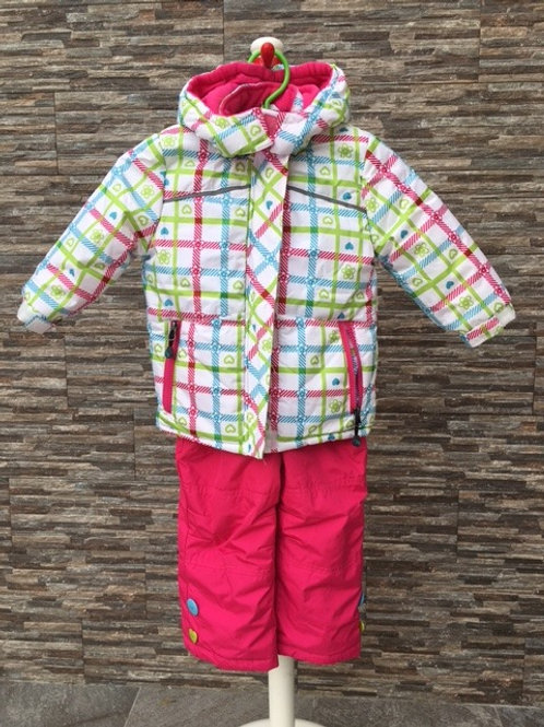 Rugged Bear Jacket with Salopettes, 2T