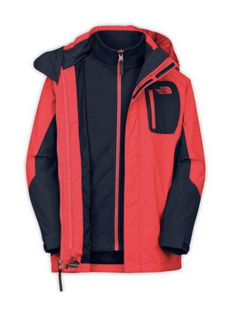 The North Face B Atlas 3in1 Jacket, 7/8T