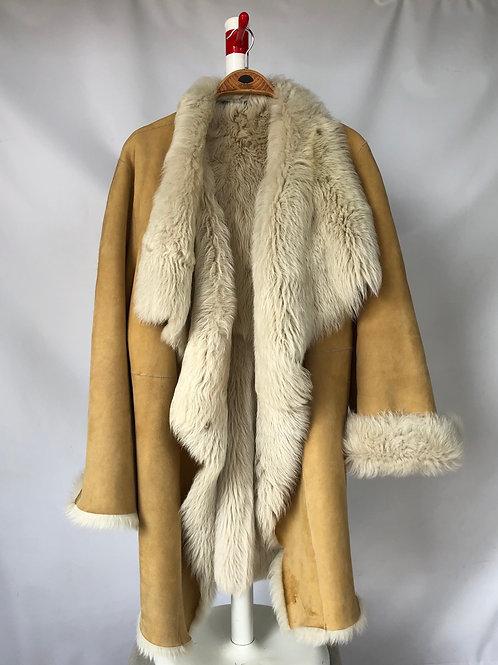 Amanda Wakeley Sheepskin Coat, M/L