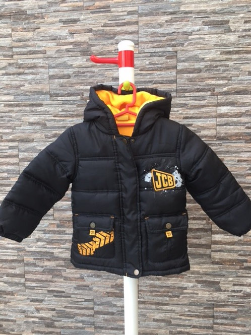 My First JCB padded winter jacket, 18 - 24m.