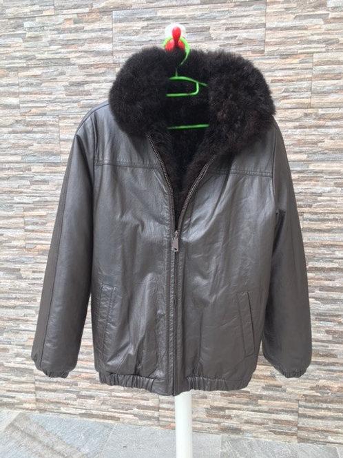 Fur/leather Reversible Jacket, M