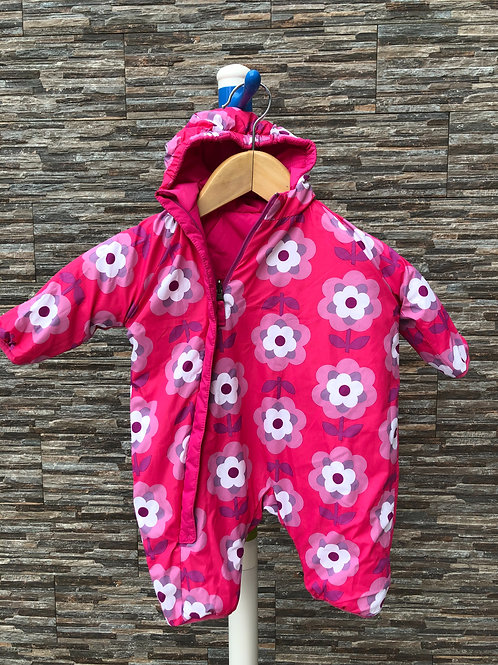 Insulated Reversible Baby Bunting, 3-6m .