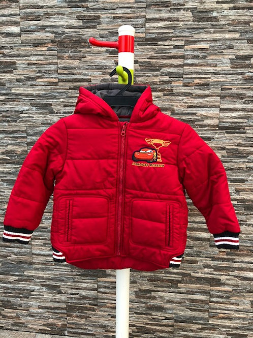 """""""Cars"""" Puffer Jacket, 2/3T"""