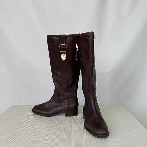 Coach Leather Boots, size US 6