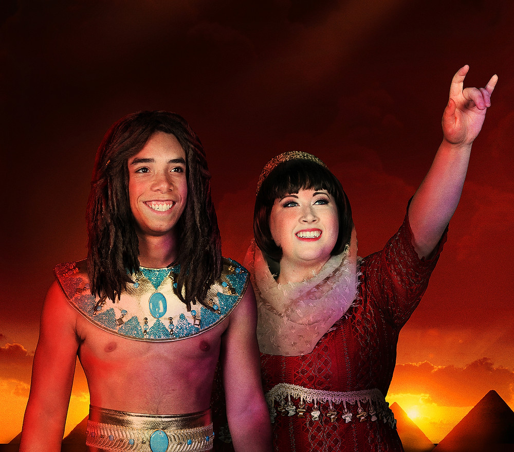 Griffin Lewis as Joseph and Mary Evan Giles as The Narrator